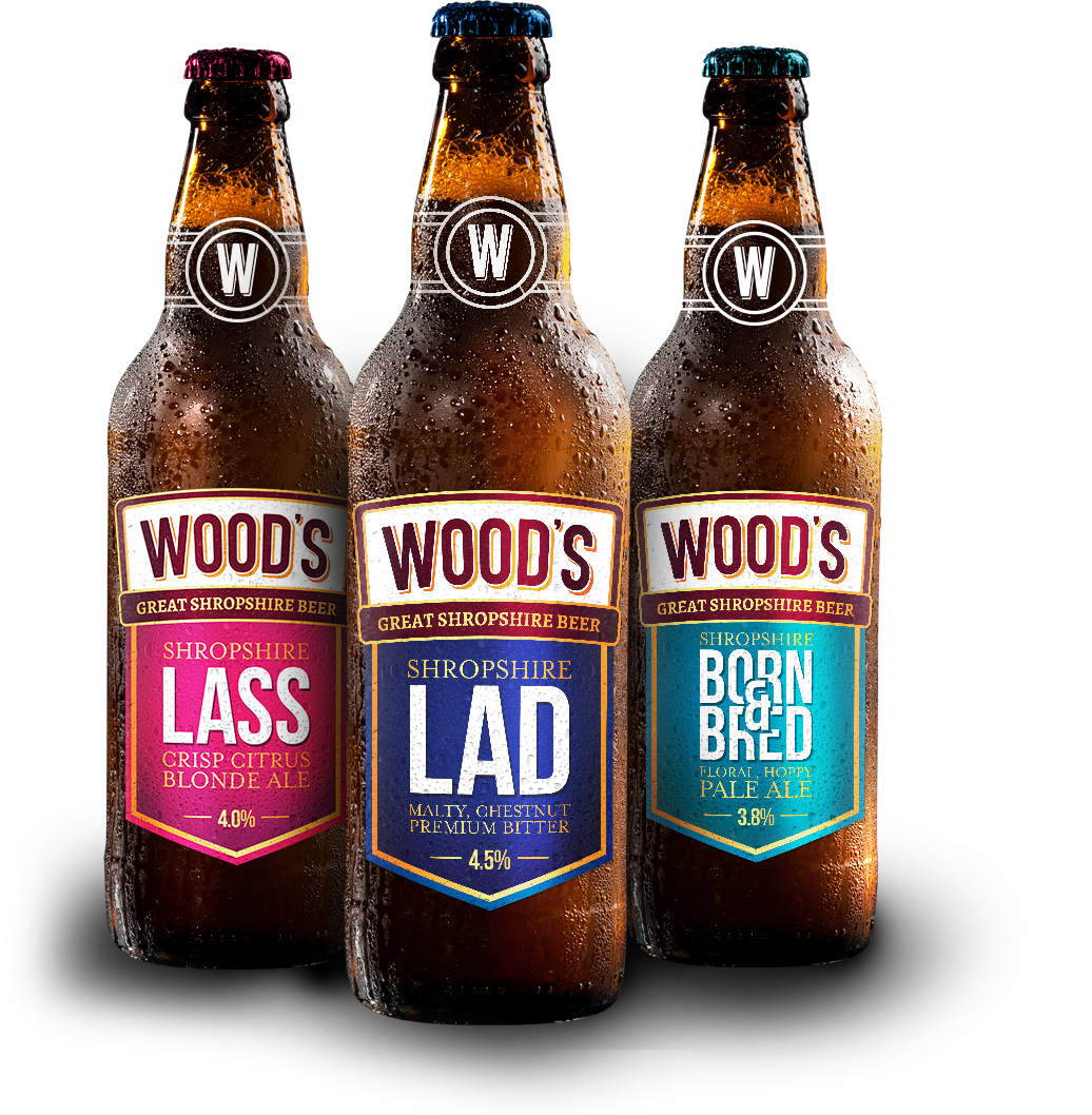 woods beers in bottles